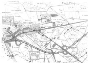Plan der Ortsumgehung